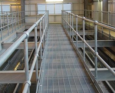 Stainless Steel Open Floor Grating Metal Bar Gratings