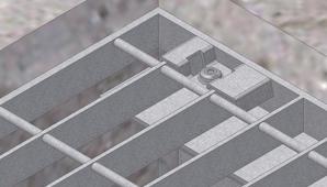 Open Type Flooring Rectangular Pattern