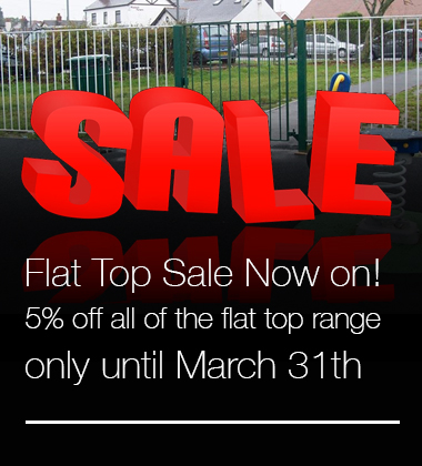 Flat Top Fencing Sale at The Fencing Superstore