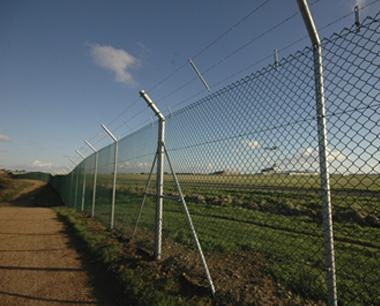 Jersey Airport Chainlink Fencing