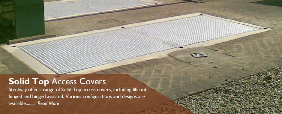Solid Top Access Covers