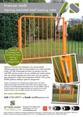 Premier Safe Self closing gate