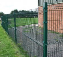 Steelway Contour Fencing - Security Fencing