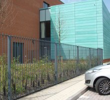 Fensecure Traditional Vertical Bar fencing - School Fencing