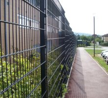 Steelway Dualmesh Fencing - Security Fencing