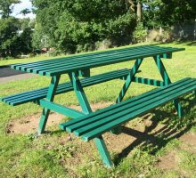 Queensgate Jubilee Picnic Table - Street Furniture