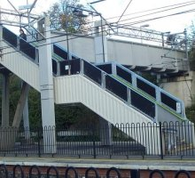 Steel Balustrade - Rail Infrastructure