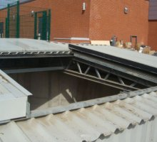 Bespoke access cover  - Biomass Fuel Storage Products