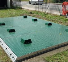 Defender Stamplock Multiple Vented - Bespoke Access Covers