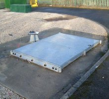 Defender Stamplock Twin fitted flush - Hinged Access Covers