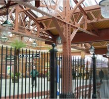 Moor Street Platform Plus Fencing - Heritage Railways