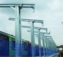 Blackfriars bespoke platform brackets  - Rail Infrastructure