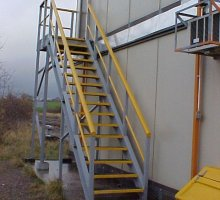 GRP Staircase - Rail Infrastructure