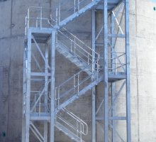 Steel Industrial Access Stairs
