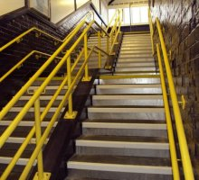 Station Stairs - Rail Infrastructure