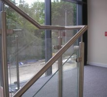 Glass Balustrade - Commercial Staircases