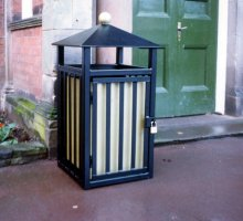 Goodyear Litter Bin - Street Furniture
