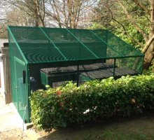 Heavy Duty Cycle - Bin Enclosure - Security Fencing