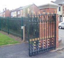 Darkmouth Park - Heritage Fencing & Gates - Heritage Fencing