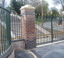 Heritage Fencing & Gates - Darkmouth Park - Heritage Fencing