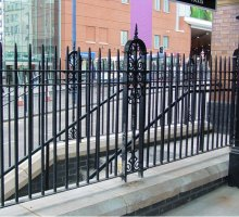 Heritage Steel Fencing - Heritage Railways