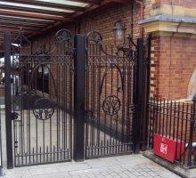 Heritage Gates - Moor Street Station - Heritage Fencing
