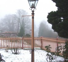 Heritage Lamppost at Hampton Loade - Heritage Railways