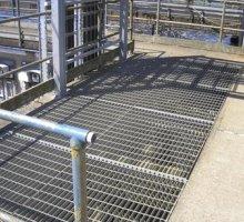 Rectangular Pattern flooring - Industrial Access Metalwork
