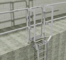Ladder type A - Industrial Access Metalwork