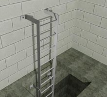 Ladder type B - Industrial Access Metalwork