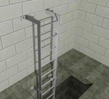 Ladder type B - Industrial Access Metalwork