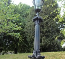 Malvern decrotive heritage lamp post - Heritage Railways