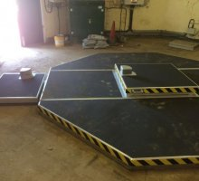 Octagonal Roof Upstand - Bespoke Access Covers