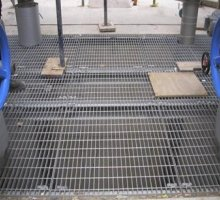 Open Mesh Flooring - Industrial Access Metalwork