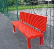 Parkside Sports Seat - Street Furniture