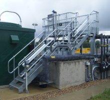 Steelway Access metalwork - steel staircase, handrail, steel flooring,   - Industrial Access Metalwork