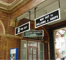 Heritage Railway Station Signs
