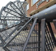 Sprial staircase  - Industrial Access Metalwork