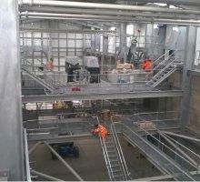 Steel Platform & stair - Industrial Access Metalwork