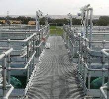 Steelway handrail & flooring  - Industrial Access Metalwork