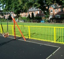 Britannia Barrier Fencing - Trip Rail / Barrier Fencing