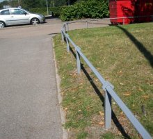 Regis Knee Rail  - Trip Rail / Barrier Fencing