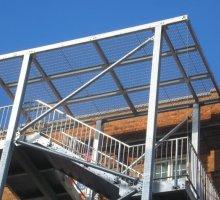 Vertical Bar balustrade   - Industrial Access Metalwork