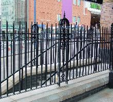 Moor Street Station Heritage Fencing