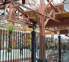 Moor Street Station Heritage Fencing - Heritage Fencing