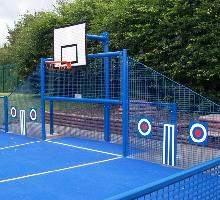 Junior MUGA with targets  - MUGA / Multi Use Games Areas