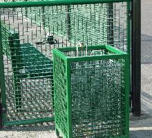 Parkside Sport Litter Bin - Street Furniture