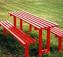 Queensgate Picnic Table - Street Furniture
