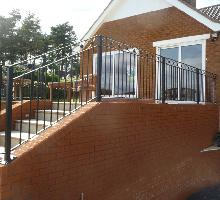 Special Ornate Railings - Residential Fencing