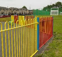 Bowtop Fencing  - Playground Fencing